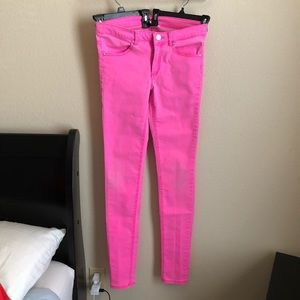 Divided by H&M Pink Skinny Jeans